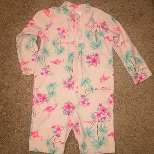 Carter's Zippered Swim Suit